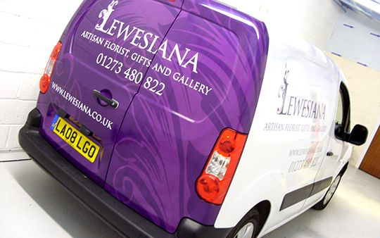 Van Signwriting | Vehicle Signage | Vehicle wrapping done  by The Sussex Sign Company
