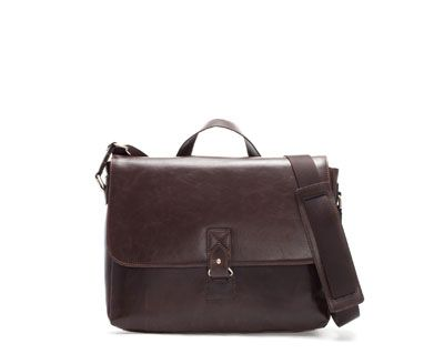 Image 1 of MESSENGER BAG WITH BUCKLE from Zara
