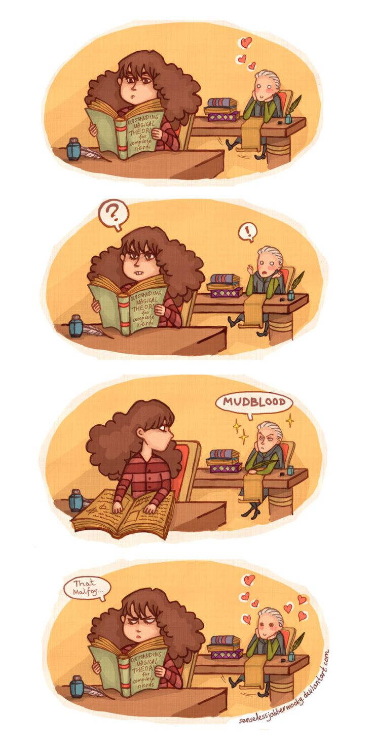 Harry Potter - Draco Malfoy x Hermione Granger - Dramione