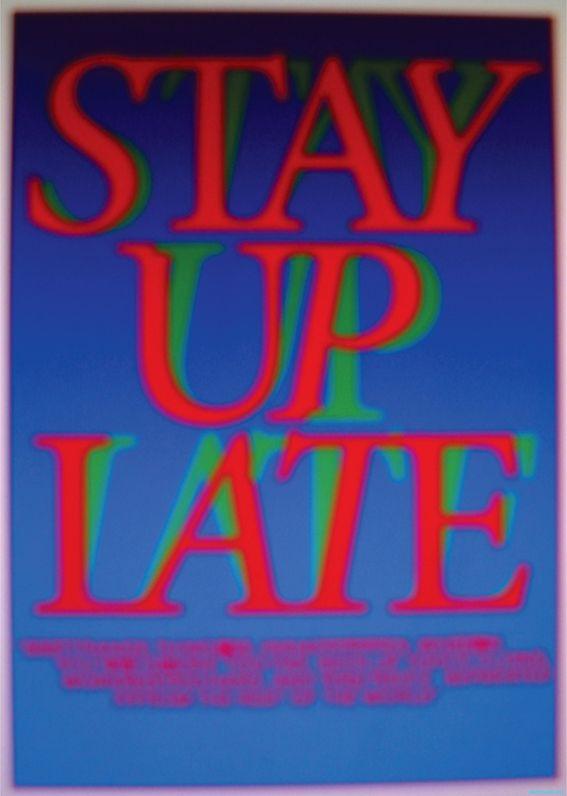 #brucemau #typography #manifesto #stayuplate #ongoing