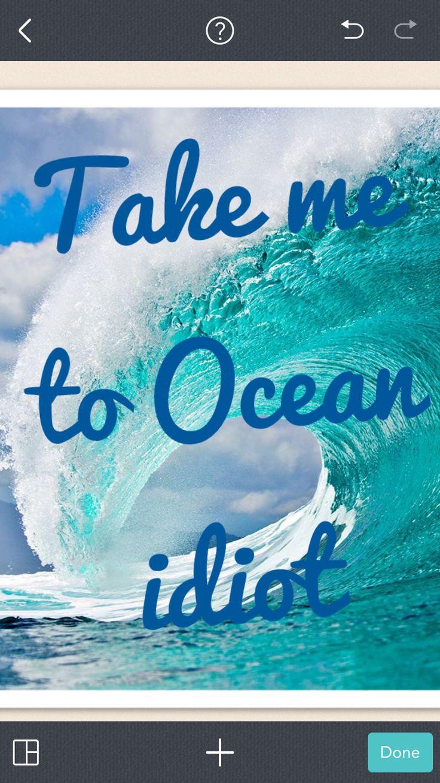 Ocean 😹💙💙💙