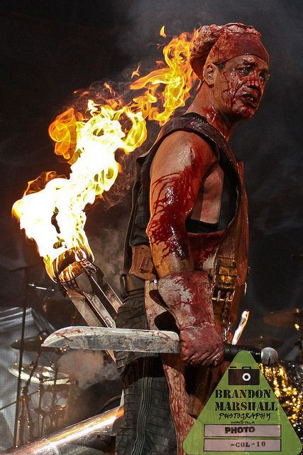 Rammstein ~ Mein Teil live performance one of the best shows ive ever been to