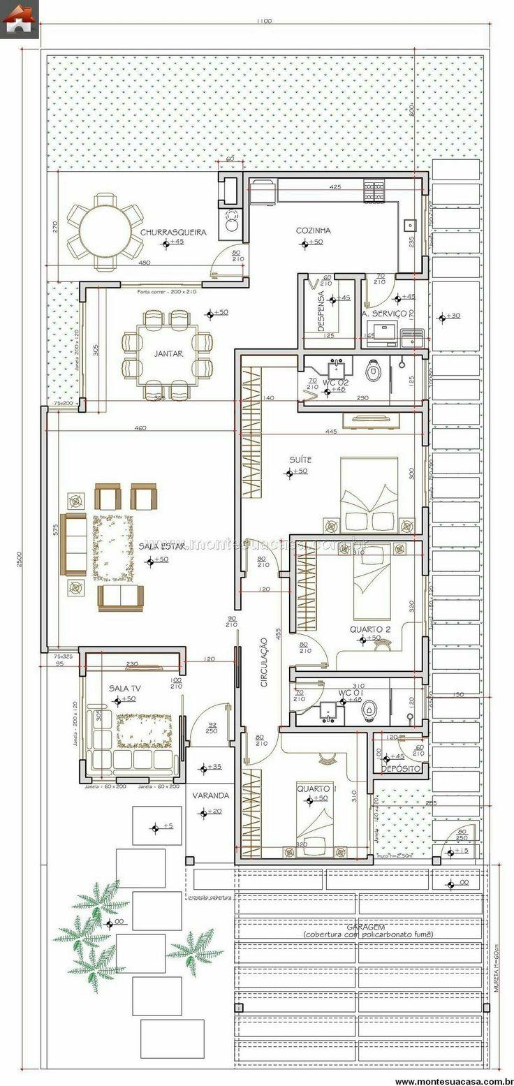 1394 best Grundrisse images on Pinterest | Floor plans, Architecture ...