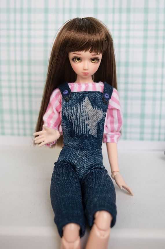 Overalls for 1:6 dolls - Obitsu, Monster High, Ever After High, Momoko, Azone and such