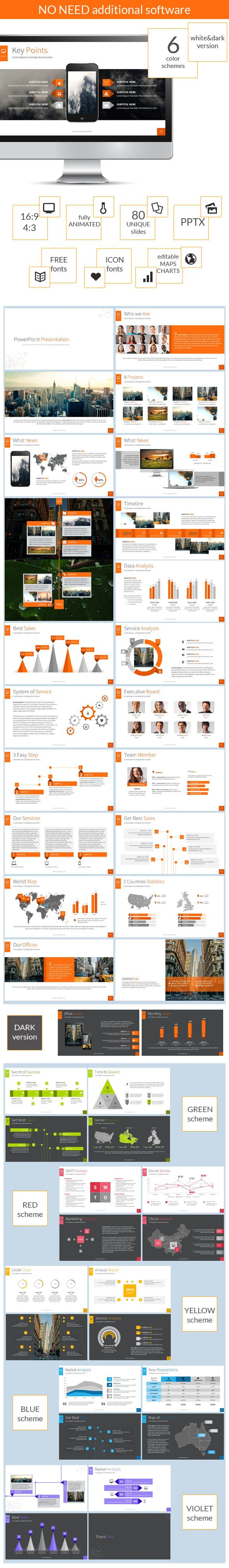 PowerPoint Presentation  - Business PowerPoint Templates