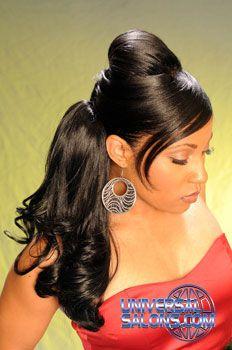 Black Hair Salons, wedding hair - luv it !
