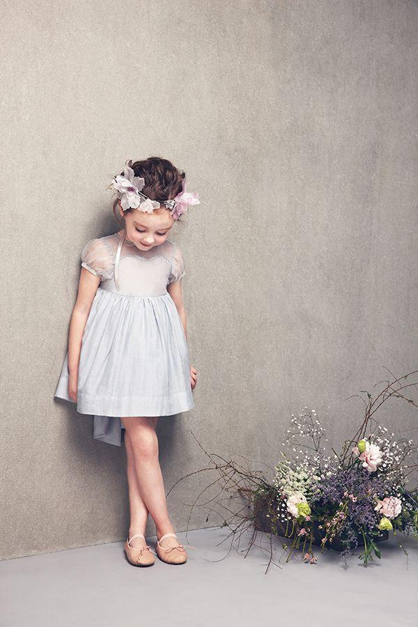 merrisa dress in Gray Dawn , jessie headband in Multi Color