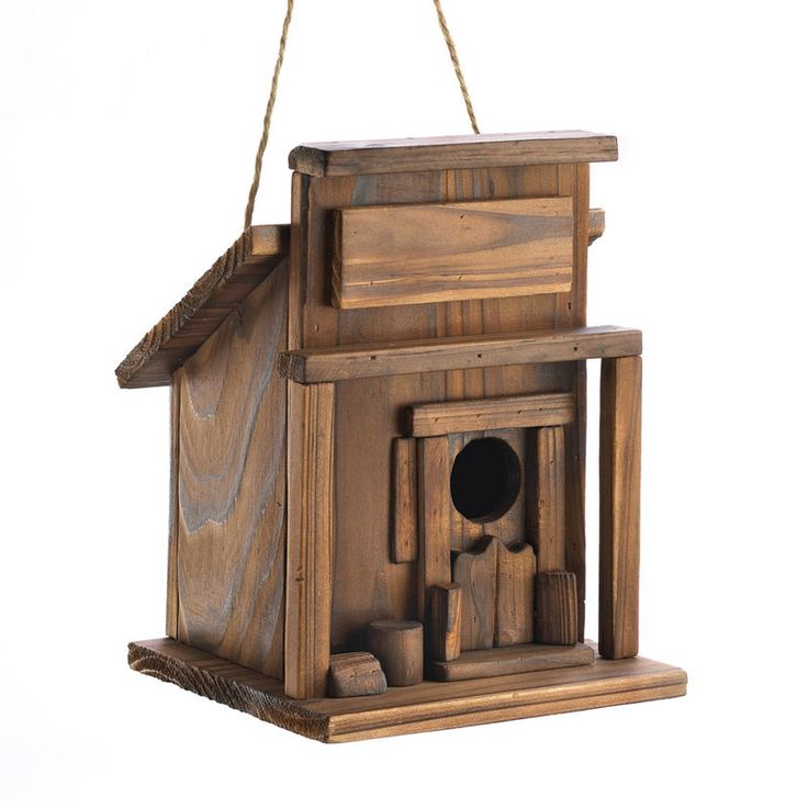 Western Saloon Birdhouse. ECA LISTING BY Global-Living Online Retail, Lower Sackville, Nova Scotia, Canada