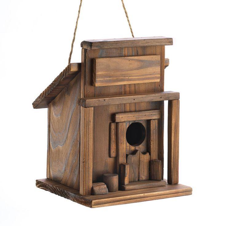 Western Saloon Birdhouse. ECA LISTING BY Global-Living Online Retail, Lower Sackville, Nova Scotia, Canada