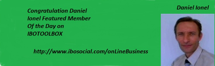 http://www.ibosocial.com/OnLineBusiness             Visit Daniel Ionel