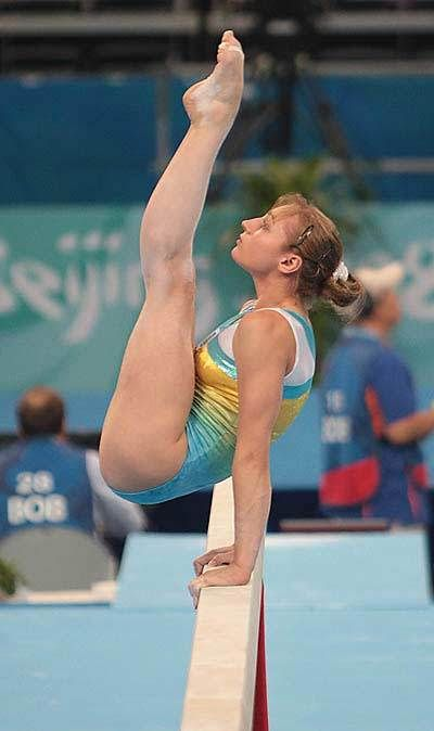 2006 World Beam Champion Iryna Krasnianska-Ірина Краснянська of Ukraine