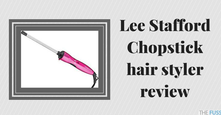 Lee Stafford Chopstick hair styler review  TheFuss.co.uk