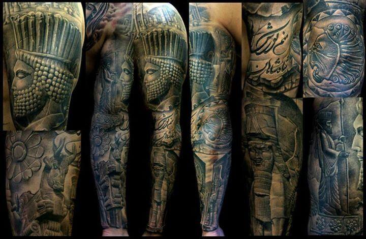 warrior sleeve more warrior sleeve sleeve tattoos body art garcia club ...