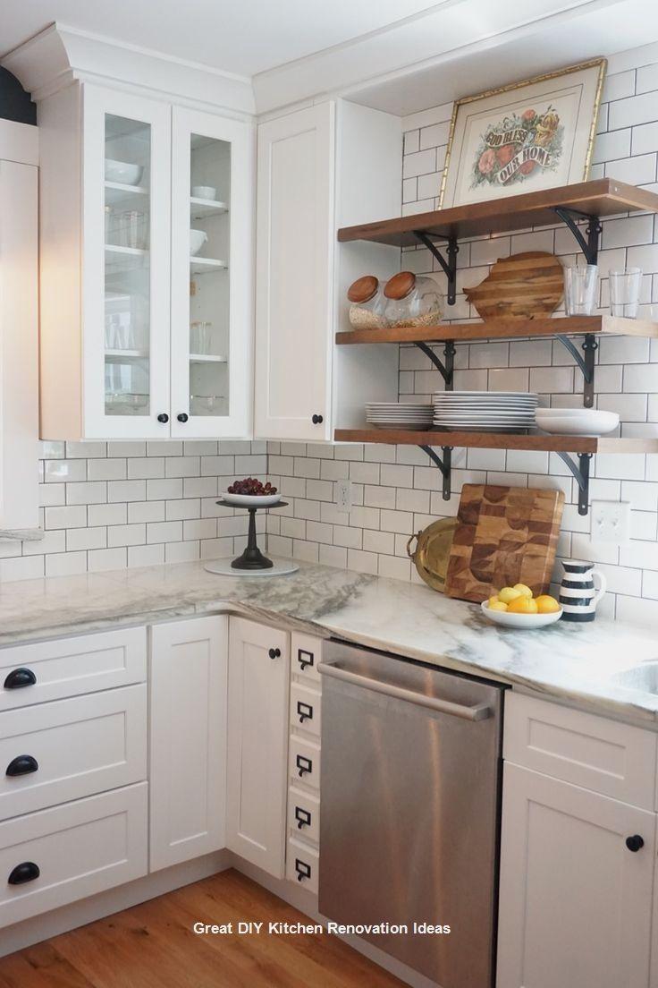 Kitchen with no window  all round diy kitchen ideas   kitchen renovations diy  pinterest