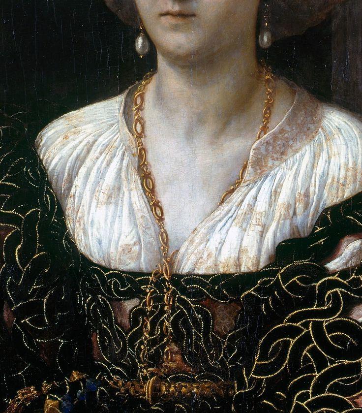 Margherita Paleologo by Giulio Romano, c. 1531