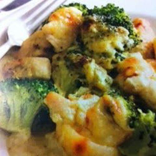 Cheesy Chicken and Broccoli Crockpot Recipe
