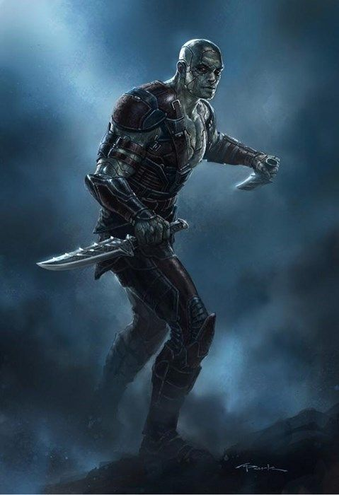 Andy Park's Awesome Concept Art For Guardians of the Galaxy- Drax the Destroyer