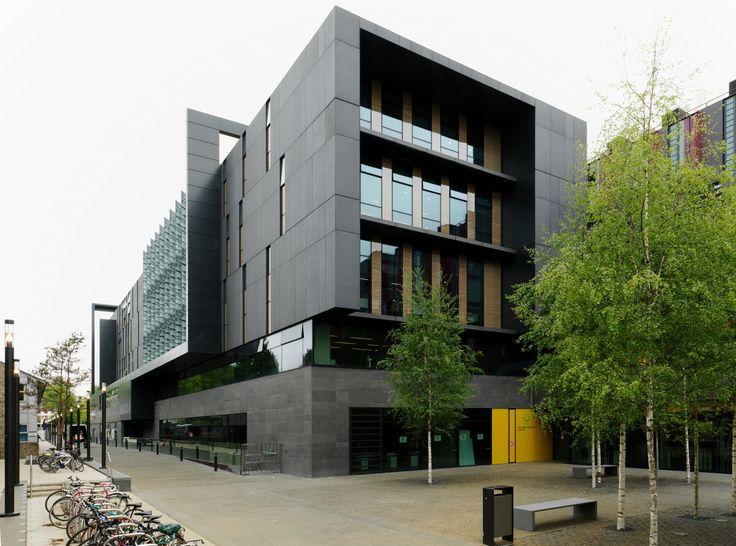 Purafacades   FibreC Silvergrey & Liquide Black   FE   Oxford Brookes University