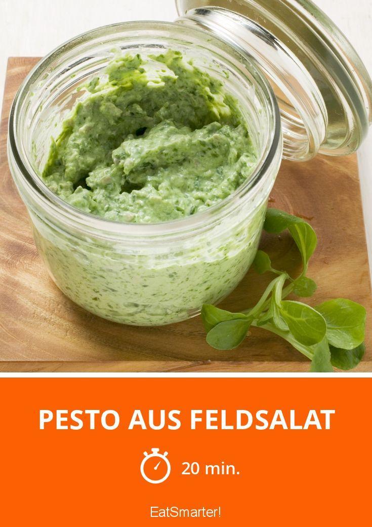 Pesto aus Feldsalat - smarter - Zeit: 20 Min. | eatsmarter.de (Veggie Pizza Recipes)