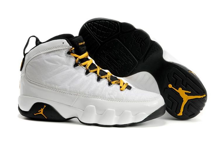 air jordan 9 black and white