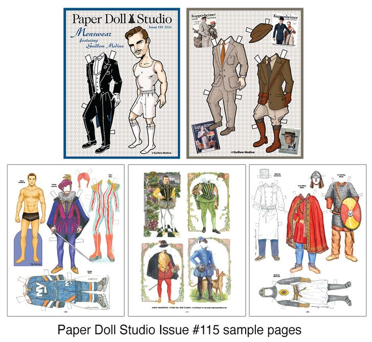 Best Paper Dolls Historical Periods Images On