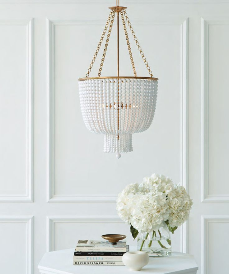{Trend Report}: Beaded Chandeliers | Bria Hammel Interiors