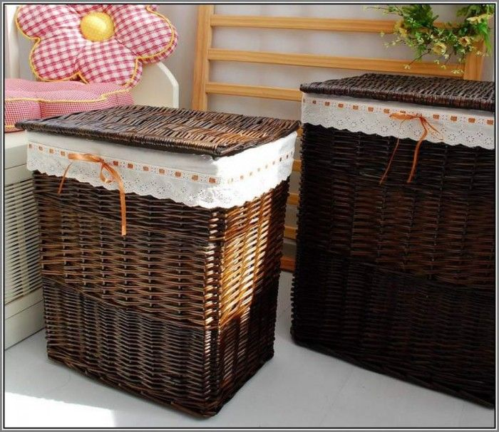 Great Wicker Laundry Basket