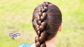 ♉︎ French Knot Braid Hairstyle ♉︎ - YouTube