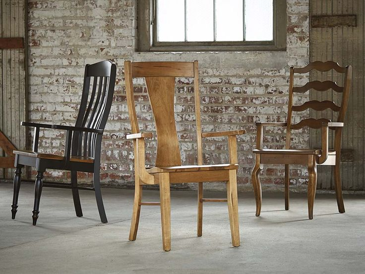 Delightful Arm Chairs Crafted From American Hardwood Lumber Is Selected For Its  Character So The Natural Beauty
