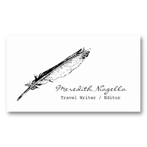 The 20 best Business Cards For Writers images on Pinterest ...
