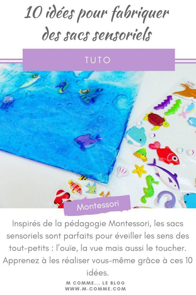 Inspirés par la pédagogie Montessori, les sacs sensoriels sont parfaits pour apprendre …   – M comme le blog – Mes articles