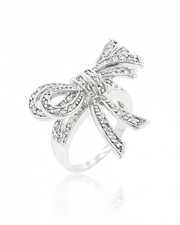 Cocktail rings, White gold and Ribbons on Pinterest