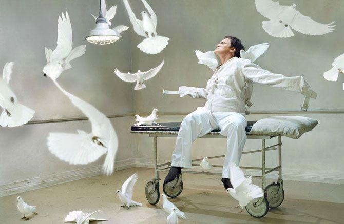 Смешные фотографии знаменитостей. Квентин Тарантино.