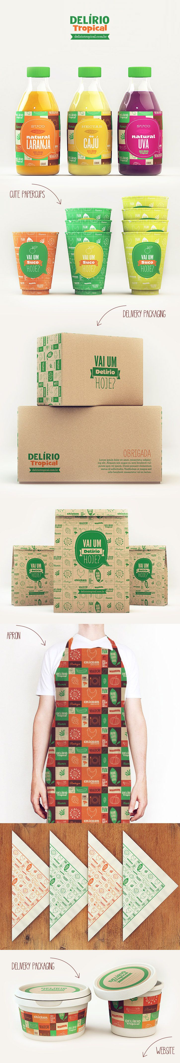 Delírio Tropical by Isabela Rodrigues #identity #packaging #branding PD
