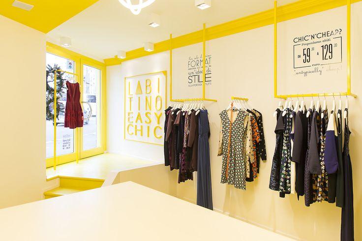 #viasantasofia #milano #labitino #easychic #labitinoeasychic #store #yellow #giallo