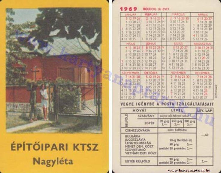 1969 - 1969_0317 - Régi magyar kártyanaptárak