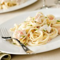 RED LOBSTER'S SHRIMP LINGUINE ALFREDO (COPY CAT)