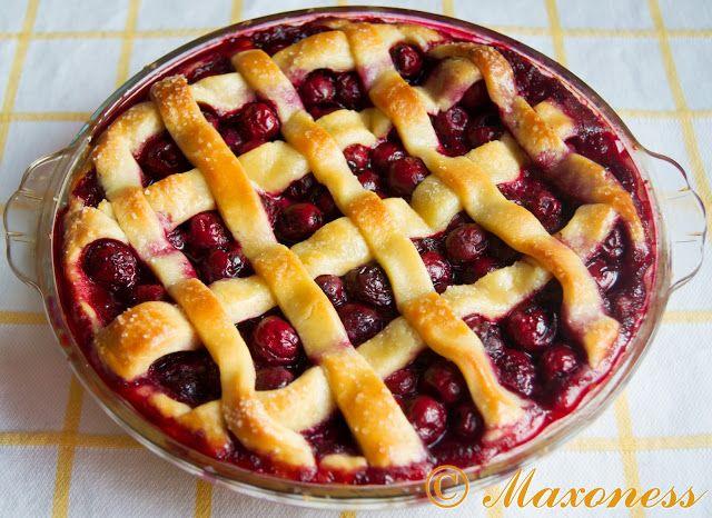 Вишневый пирог от Гордона Рамзи. Американская кухня