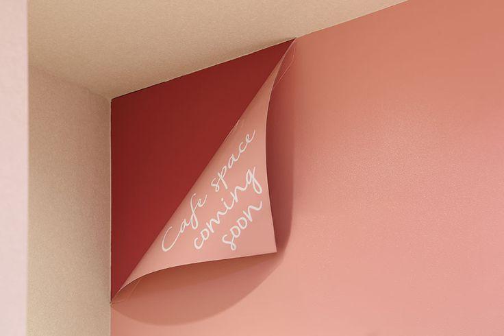 ケーキ屋のオシャレなサインデザイン
