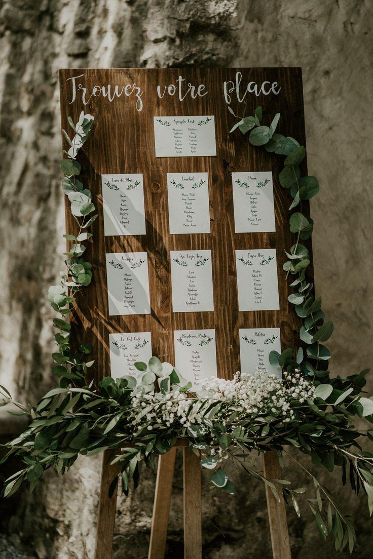 Boheemse bruiloft tafel plan
