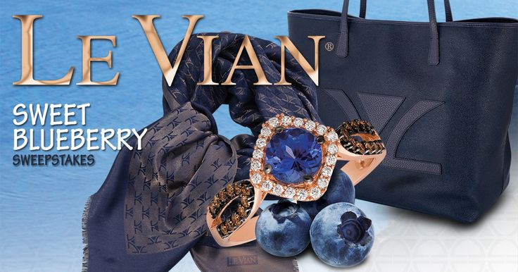 Enter the Le Vian® Sweet Blueberry Sweepstakes for a chance to win ALL of these Le Vian® designs!
