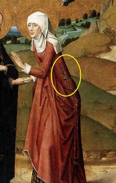 Sidelacing on paintings from the 15th Century -Maniacal Medievalist