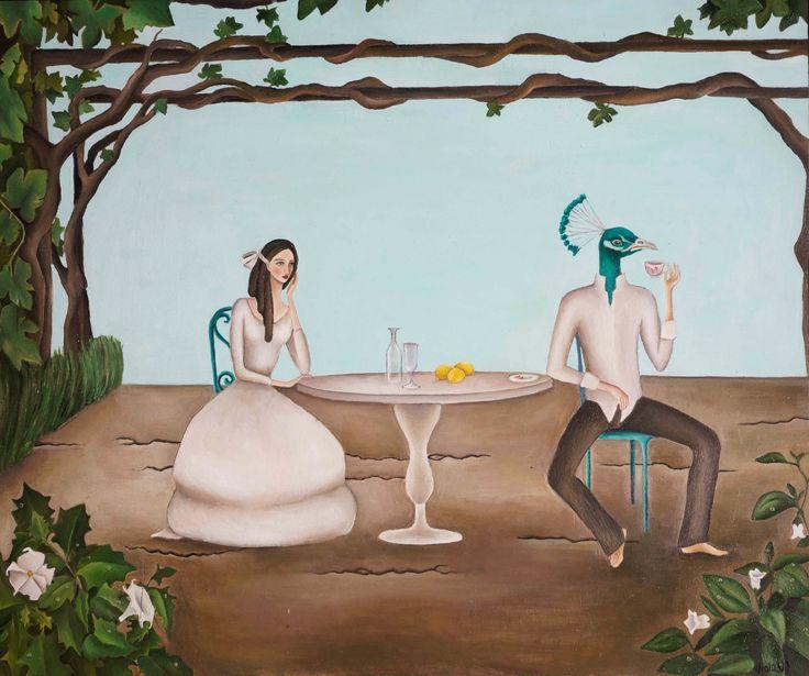 Viola Vistosu, Meriggio in maggio-Olio su tavola (Oil on wood) 2014