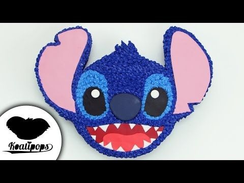 Stitch Cake | Lilo and Stitch | Disney | How To - YouTube