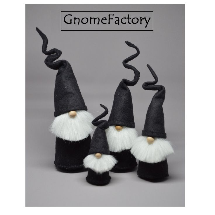 Handcrafted felt gnomes | GnomeFactory on Etsy.