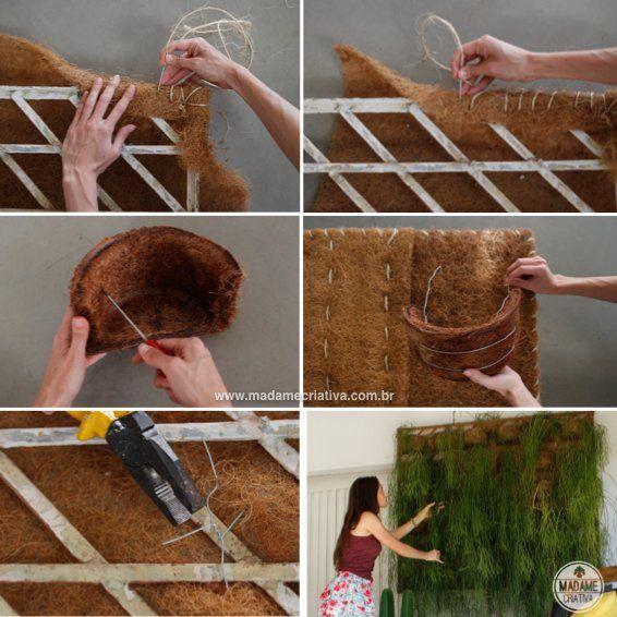 Como fazer um painel verde de Rhipsalis