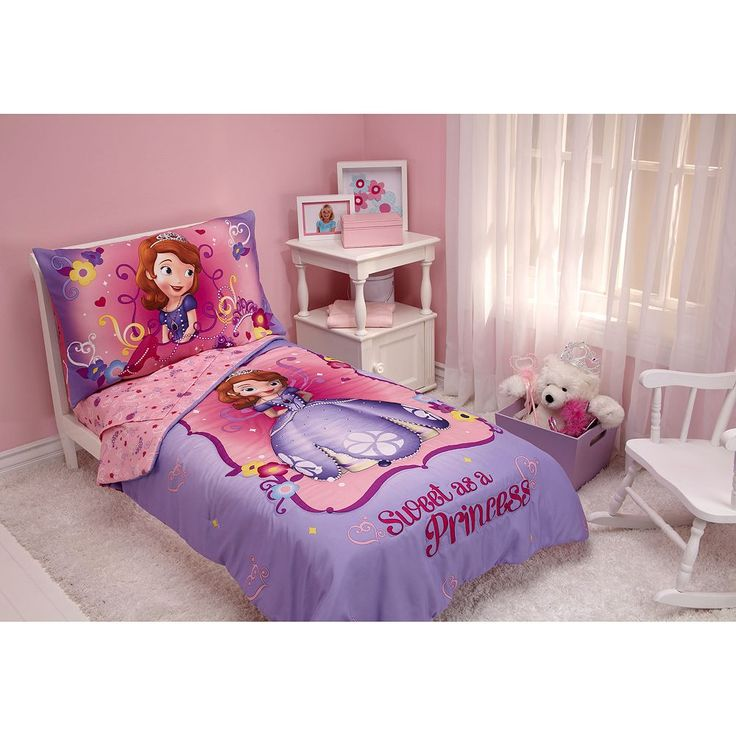 Disney Sofia the First 4-pc. Toddler Bedding Set by Crown Crafts, Multicolor