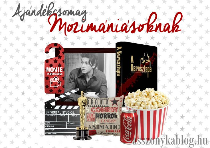 Giftbox for cinema-lovers. Cinema giftbox. Ajándékcsomag mozimániásoknak.