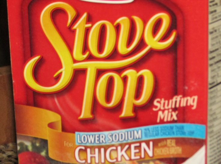 Stovetop Chicken Casserole - one of the few things my mother in law makes that is edible