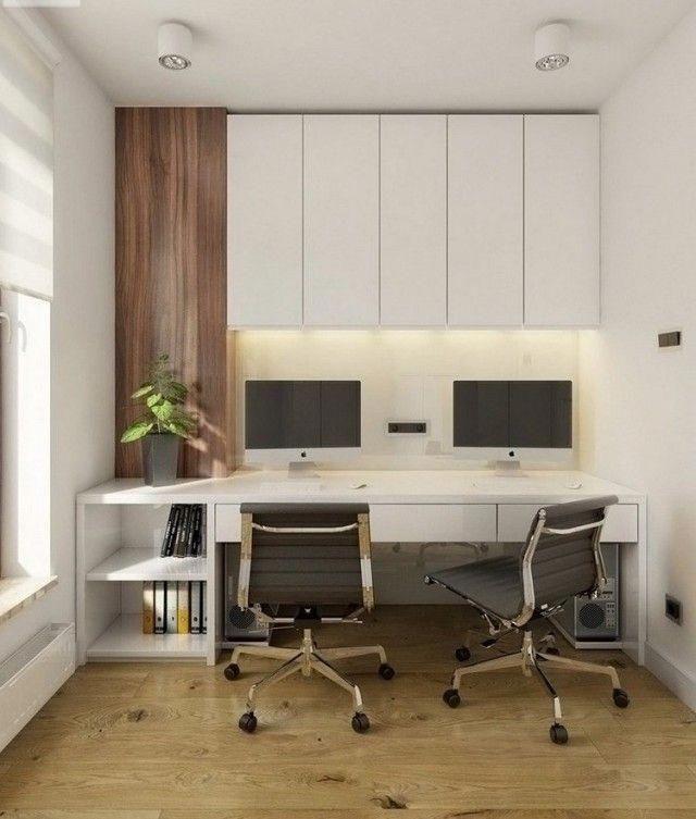 Aménagement Bureau à La Maison En 52 Idées Décoratives Superbes  #Homeofficeideas